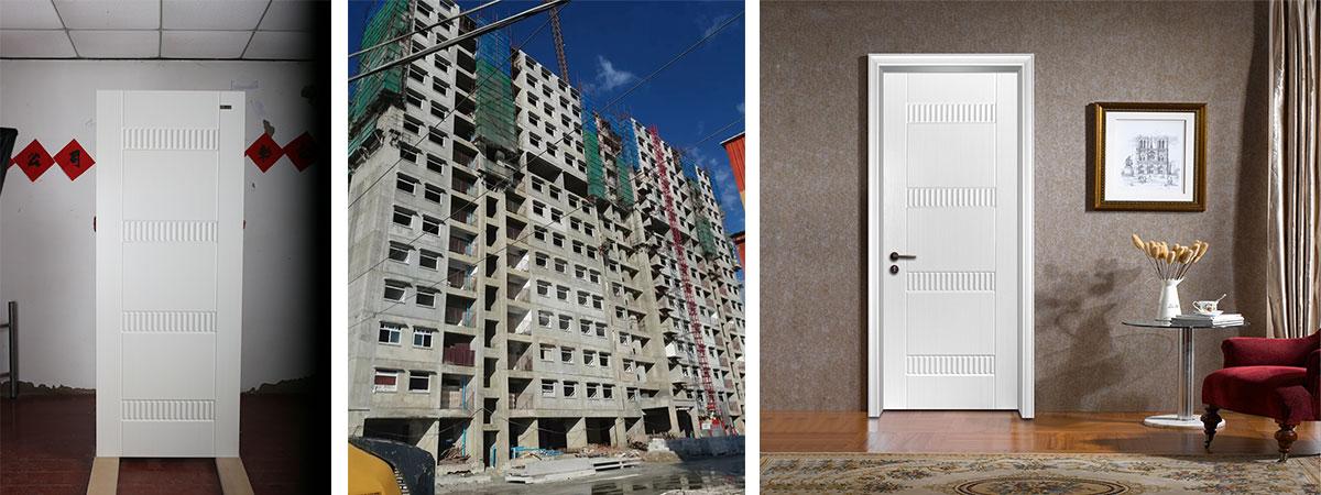 GuangZhou China Condominium door