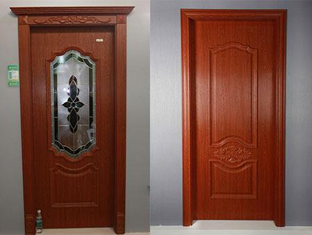 glass door wpc door